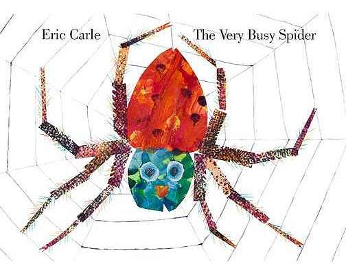 The Very Busy Spider By Carle, Eric